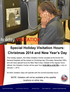 Special visitation hours